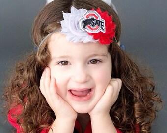 Ohio State Buckeyes Headband~ ohio state headband