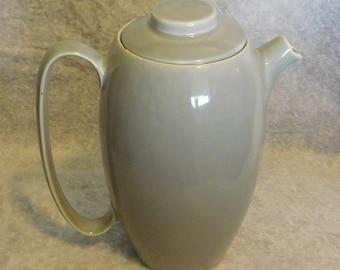 Cavitt Shaw Gray Coffee Pot Ceramic