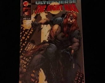 The Night Man comic book