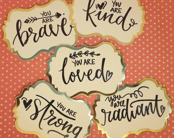 Love Notes | set of 5