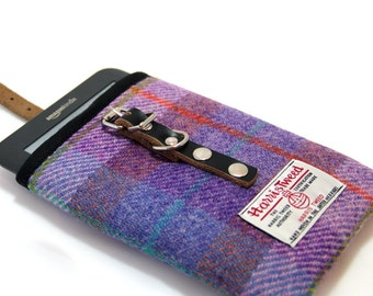 Harris Tweed kindle 6'' cover - Checks and Tartans, kindle Paperwhite, e-reader, kindle voyage