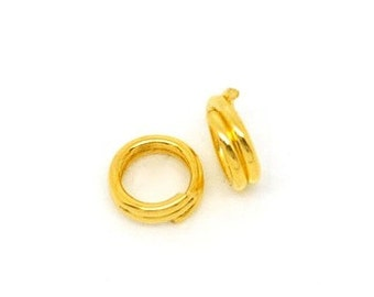 150 - 4mm  Double Loop Jump Rings