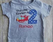 Little Einsteins birthday shirt rocket