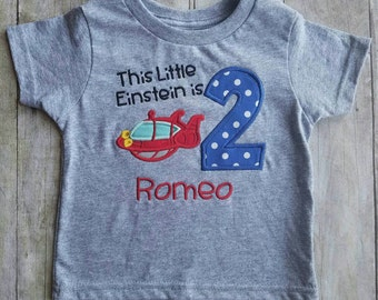 Little Einsteins birthday shirt rocket