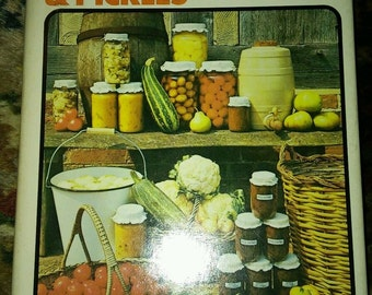 Vintage 1970 Cookook Jams PRESERVES And Pickles by HUME & DOWNES canning