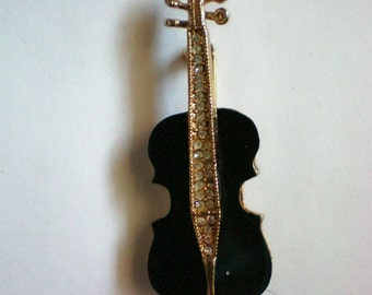 Violin, Cello or Viola Figural Pin - 4757