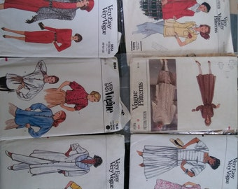 Vintage Vogue Patterns from the 1970s and 1980s