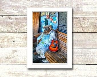 Nola Greeting Cards, French Quarter Scenes, New Orleans, Handmade, Crockadile Rock, Suitable For Framing, Fine Art Cards