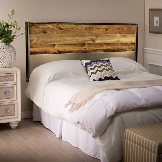 King Size Headboard Bedroom Furniture Wood Metal Headboard