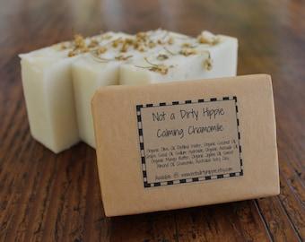 Calming Chamomile Soap, Sensitive Skin Soap, Gentle Face Soap, All Natural Soap, Vegan Soap, Bar Soap, Facial Soap, Bath Soap, Herbal Soap