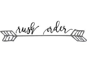 Rush My Order: 5-7 business days