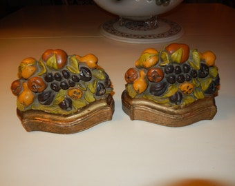 FRUIT BOOKENDS