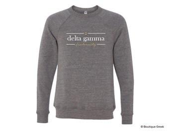 DG Delta Gamma Sorority Sweatshirt