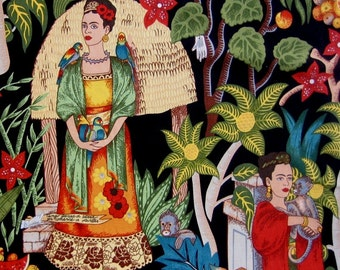 Fabric, Frida's Garden, Alexander Henry, Mexican Artist, By the Yard