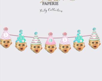 Birthday Hat Face Banner