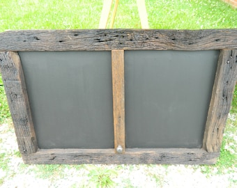 Reclaimed Barn Wood Chalkboard