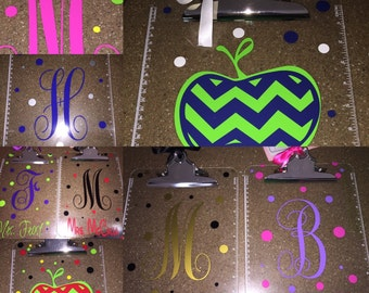 Personalized Clipboards-Great Teacher Gift