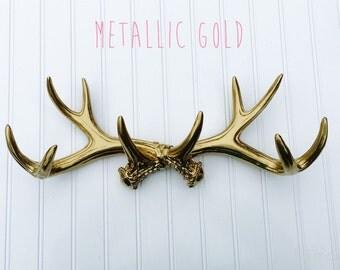 Deer Antler Jewelry Holder - Faux Deer Antler Decor - Jewelry Organizer  - Faux Taxidermy - Deer Decor - Antler Decor