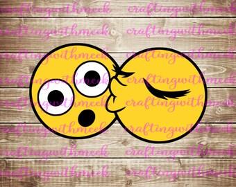 Kissing Emojis