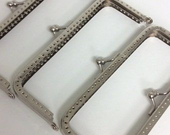 Set of 5 - 13cm  silver purse frame REF 170-130