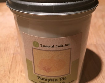Pumpkin Pie 8oz Soy Candle