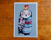Large postcard  illustrated by Kim Durocher
