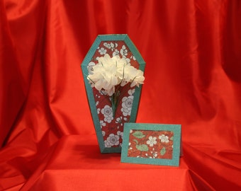 Coffin Gift Box - Asian Flower