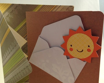 Envelope of Sunshine Greeting Card