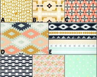 Custom Crib Bedding and Nursery Decor  / Design Your Own / Crib Bumper / Crib Skirt / Crib Sheet / Arizona