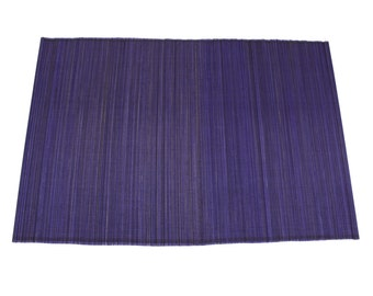 "Purple Bamboo Place Mat 13"" x 19"" set of 4 Home & Kitchen, Home Decor, elegant looking, place setting, modern look,  (BAP01-04)"