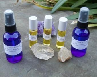 Peppermint Nutmeg Aromatherapy Essential Oil Roll On • Relaxation  • Peppermint Oil • Nutmeg Oil • Jojoba Oil • Insomnia • 10ml bottle