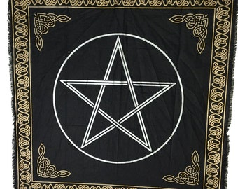 Altar Cloth- Pentacle 36x36 inches