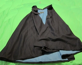 Ladies Naval Cape - Blue Liner