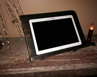 Primitive Tablet iPad Cookbook Holder
