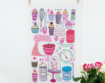 Sweet Tooth Oversized Teatowel