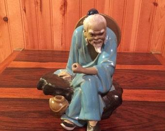 Onsale Ceramic OldnMan Figurine