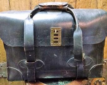 Vintage Leather Briefcase