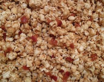 BACON CARAMEL CORN Popcorn!!! (1 lb)
