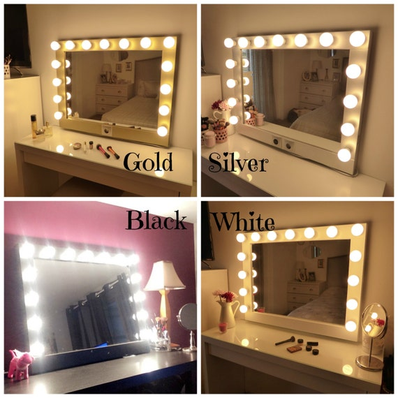 Large Makeup Mirror Stand - Makeup Vidalondon