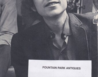 Original photograph Post Card-Bob Dylan circa 1967