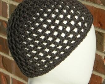 Open Beanie Hat