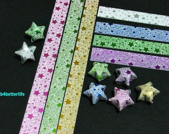 112 strips DIY Origami Star Paper For Folding Medium Size Lucky Stars. 24.5x1.2cm. (HL paper series). #HL71E.