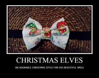 Men's Elf bowtie for Donald Albino