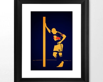 Thierry Henry Etsy