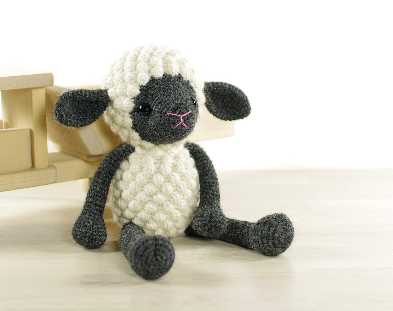 Free Crochet Amigurumi Lamb : PATTERN: Sheep Amigurumi lamb Crochet tutorial by KristiTullus
