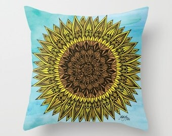 Zentangle - Sunshine Pillow Case