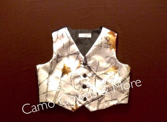 Camo Boys Vest