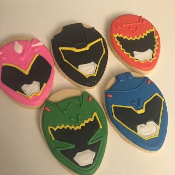 Power Ranger Cookies
