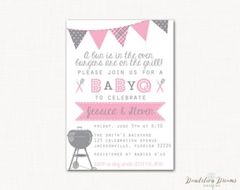 baby q shower invitation co ed shower couples baby shower