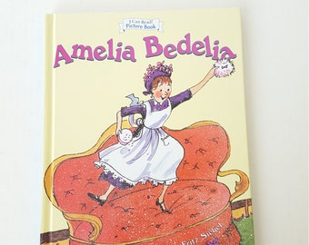 Vintage Childs Storybook, Amelia Bedelia, Peggy Parish Author, Classic, Child Storybook, Child Picture Book, Collectable,
